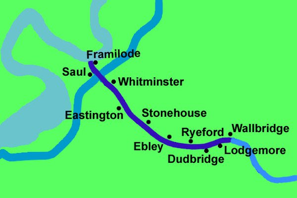 Photo of Stroudwater Canal Map